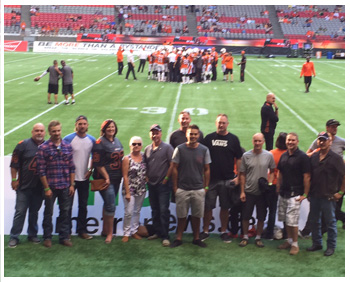 BC Lions Team
