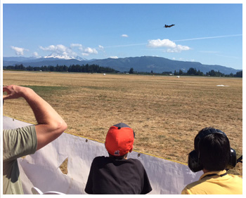 Abbotsford Airshow Chalet